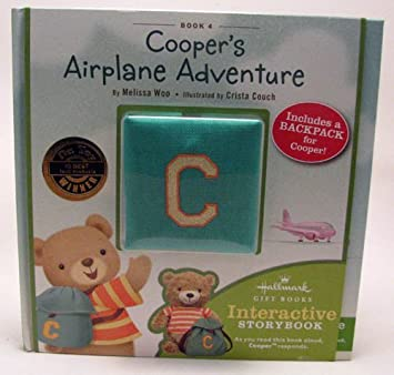 Amazon.com: Hallmark Gift Books KOB8030 Book 4 Cooper's Airplane ...
