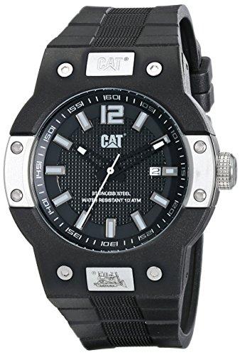 CAT WATCHES Men's N514121121 Northcape Round Analog Display Quartz Black Watch