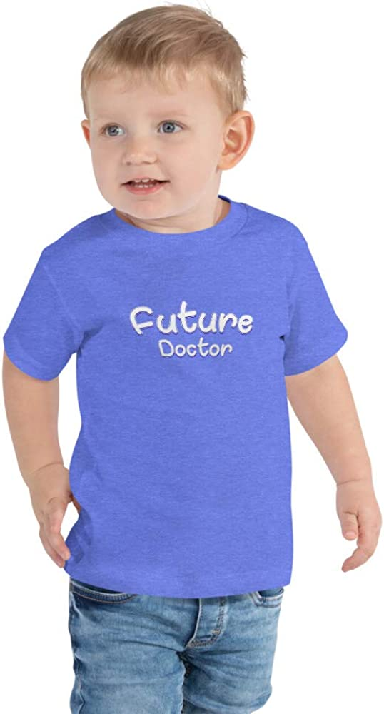 Future Doctor Dr Medical Field Career Funny Toddler Short Sleeve Tee