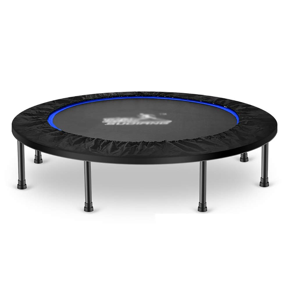 Without handle Trampolines 45″ Mini, Indoor Outdoor Folding Exercise Fitness Bounce Bed for Kids Adults, Bearing Capacity 300kg