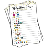 Baby Shower Emoji Picture Game - Baby Shower Game -...