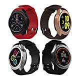 bluetooth smart watch wristband heart rate monitor sleep fitness tracker support card-plug calls
