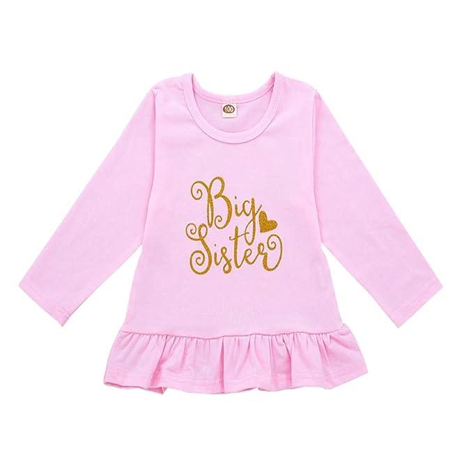 Amazon.com: OUTGLE - Vestido de manga larga para bebé recién ...