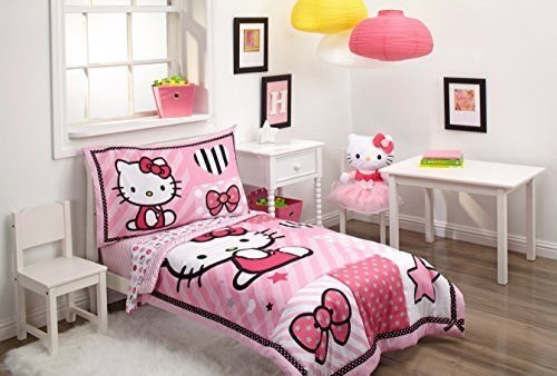 - Hello Kitty Sweetheart 4 Piece Sanrio Toddler Bec Set