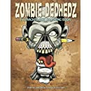 Zombie DedHedz: A Whacked Out Coloring Book