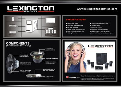 Best price for Home Theater System Lexington Acoustics Inspire LX-310