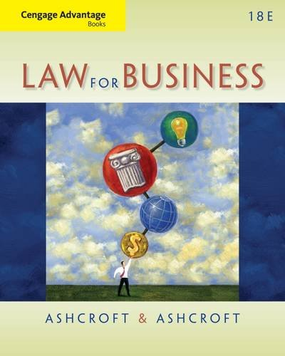 Law For Business Text