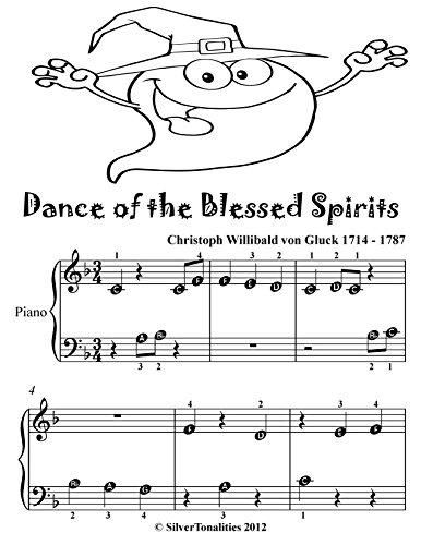 (Dance of the Blessed Spirits Beginner Piano Sheet Music Tadpole)