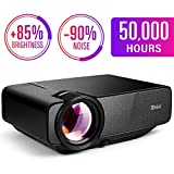 Best Mini Projectors - RAGU Z400 Mini Projector, 2019 Upgraded Full HD Review