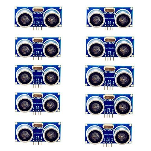 (WYPH Ultrasonic Module HC-SR04 Distance Measuring Ranging Sensor for Arduino Pack of 10pcs)
