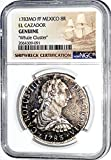 1783 MX 8 Reales Coin From Whale Cluster Clump MO FF El Cazador Shipwreck ,NGC Certified 2064309091 8 Reales Certified NGC
