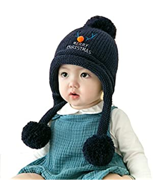 Baby Boy Hat Toddler Girls Kids Teen Infant Cap Winter Beanie Knit Crochet Knitted C -Deeply Discounted Price…