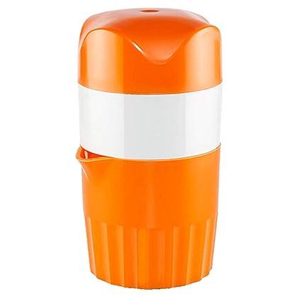 TAMUME 600ml Exprimidores Manuales con Taza, Tapa y Filtro, Exprimidor de Naranja para la