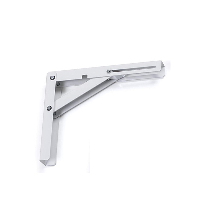 200 mm//H/öhe 160 mm wei/ß Tragkraft 120 kg SO-TECH/® Klappkonsole Profi-Nr.1 L200 L/änge pro Paar