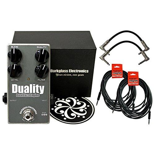 Darkglass Duality Fuzz Bass Fuzz Pedal w/ 4 Cables