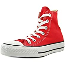 converse red shoes. converse chuck taylor all star core hi women us 8.5 red sneakers shoes