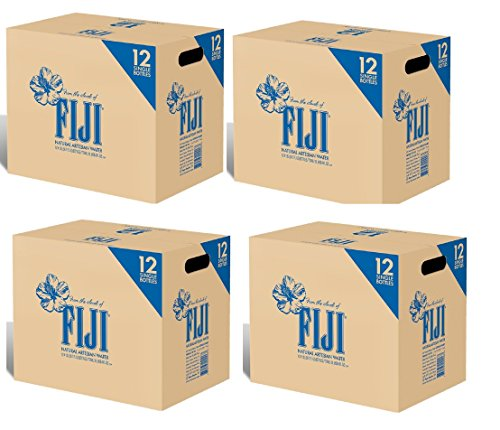 FIJI Natural Artesian Water, 500mL Bottles iPmOLH, 96 Bottles by Fiji