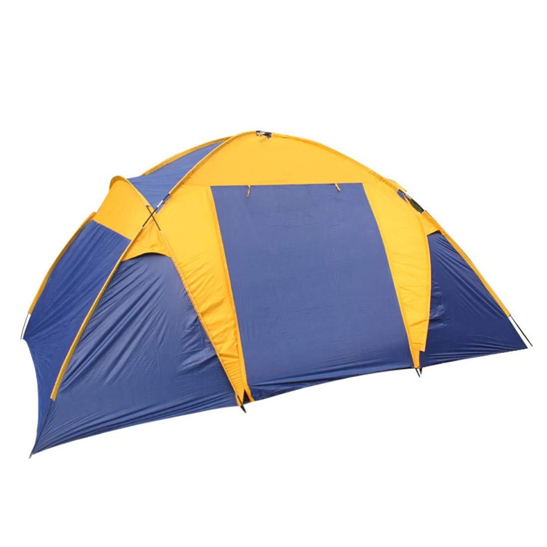 Fepelasi Kletterzelt Doppel-Camping winddichtes Sonnenschutzzelt Geeignet für Outdoor-Sportler (Größe : 5-8P)