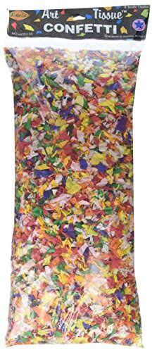 Tissue Confetti (multi-color) Party Accessory (1 count) (3¾ (Tissue Paper Confetti)