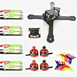 Quickbuying New Arrival Realacc X210 4mm Frame w/ F3 6 DOF Racerstar BR2205 2600KV Motor RS30A V2 Blheli_S 5X4X3 Propellers For RC Model