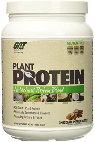 GAT Plant Protein, Chocolate Peanut Butter 1.48 Lbs 673g