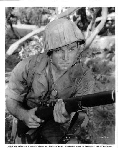 Unknwon World War II actor Original 8x10 Photo H9481