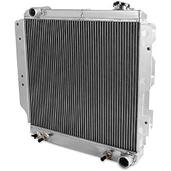 MONROE RACING U0139 Aluminum Radiator for Jeep Wrangler TJ YJ// V8 Conversion 87-95 97-02 3 Core