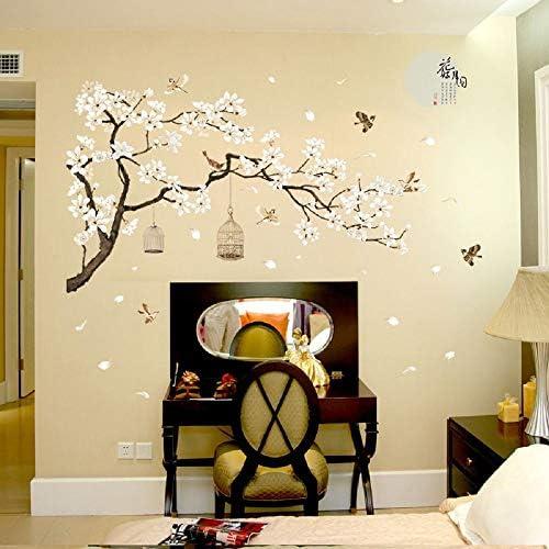 Flower  Home Decal Decor Wall Bird Wall Art Wall Stickers All Room