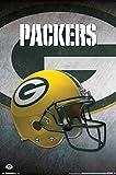 "Trends International RP14988 ""Green Bay Packers Helmet"" Wall Poster, 22"" x 34"""