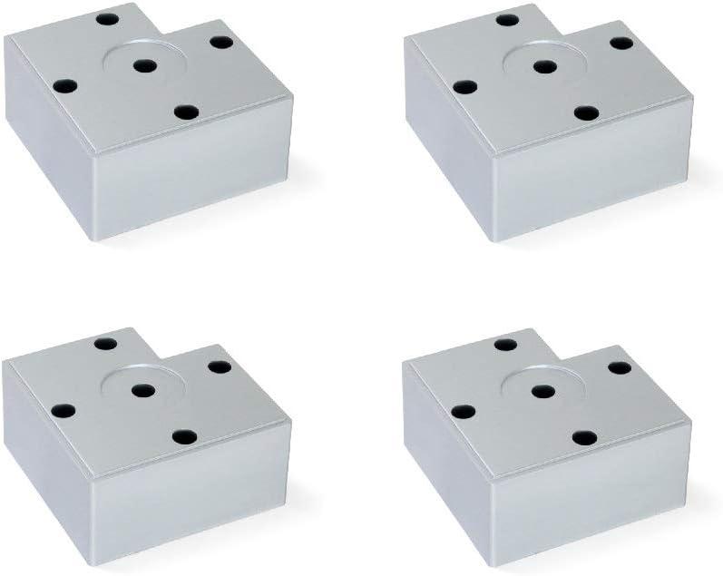 Mini Nivel de burbuja de 2 v/ías muebles herramienta niveladora en forma de T para medir el nivel del pie para m/áquinas herramienta de medici/ón de nivel de pie con indicador