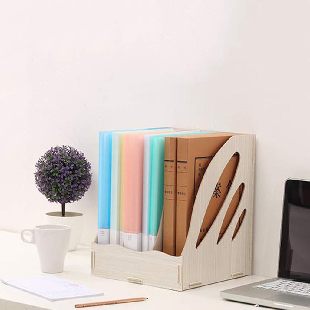 Dateihalter Aus Holz Bürobedarf Desktop Magazin Magazin Magazin Aufbewahrungsbox Datenrahmen Dateikasten Dateileiste Dateikorb (Farbe    5) B07MXC29HL | Spielen Sie auf der ganzen Welt und verhindern Sie, dass Ihre Kinder einsam sind  102d77