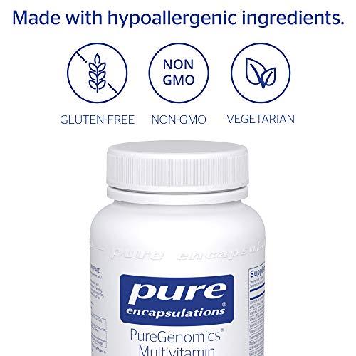 Pure Encapsulations - PureGenomics Multivitamin - Hypoallergenic Multivitamin/Mineral Complex - 60 Capsules by Pure Encapsulations (Image #3)