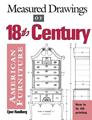 Measured Drawings of 18th Century American Furniture 18th Century English Furniture
