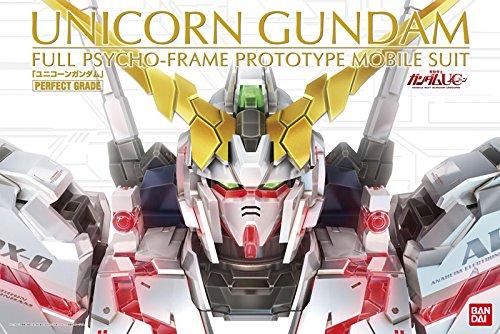 Bandai Hobby PG RX-0 Unicorn Gundam Model Kit (1/60 Scale) (Best Perfect Grade Gundam Model Kit)