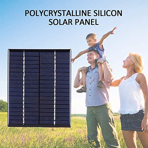 Solarpanel USB 2W 6V Mini Solarpanel Solarstromladegerät Energieeinsparung