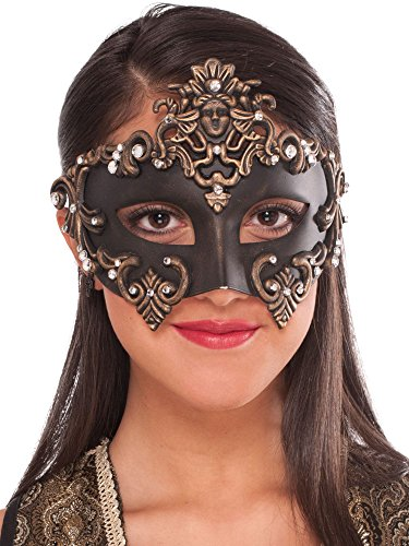 Forum Women's Medieval Fantasy Half Mask, Multi, One Size -