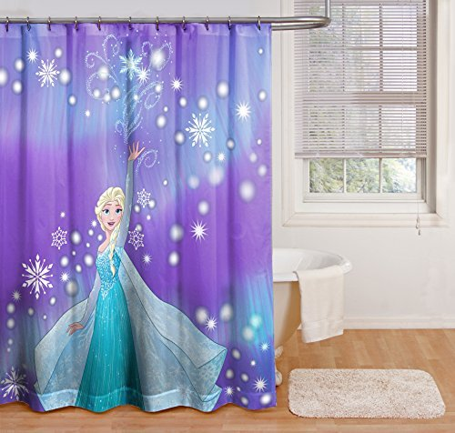 Disney Frozen Snowflake Shower Curtain by Disney