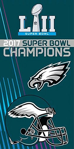 Northwest Towel Beach - The Northwest Company Licensed 2017 NFL Super Bowl Champions Philadelphia Eagles Souvenir Beach Towel