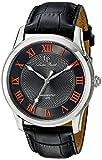 Lucien Piccard Men's LP-40005-014-OA Olympus Analog Display Quartz Black Watch