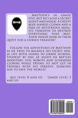 The Cursed Treasure of Badhu Spago: Grade School Ninja Grade