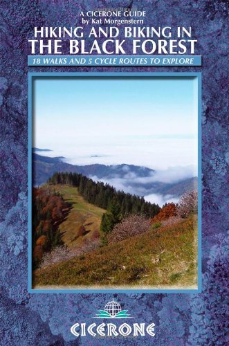 Hiking and Biking in the Black Forest (Cicerone Guide)
