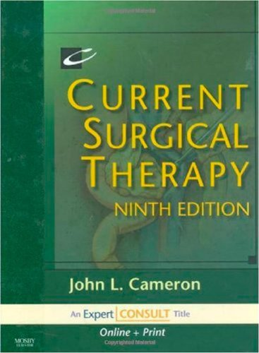 Surgical Therapy (Current Surgical Therapy: Expert Consult: Online and Print, 9e)