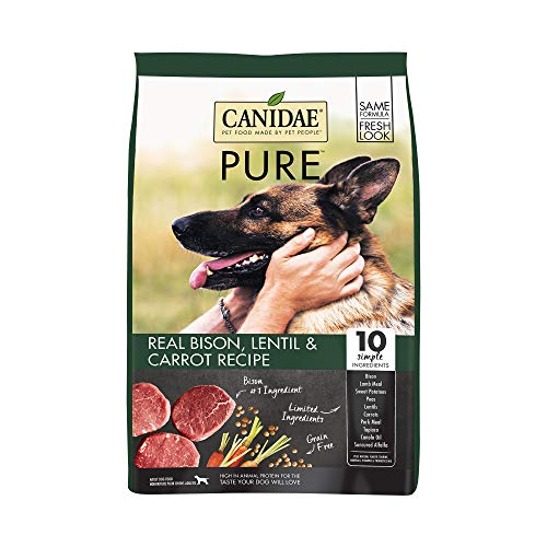CANIDAE PURE Real Bison, Lentil & Carrot...