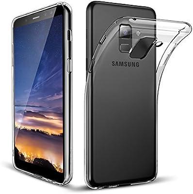 POOPHUNS Funda Samsung Galaxy A5 2018/A8 2018, Carcasa Samsung Galaxy A5 2018 / A8 2018, Fundas Carcasas Case Caso Cover Transparente para Samsung ...