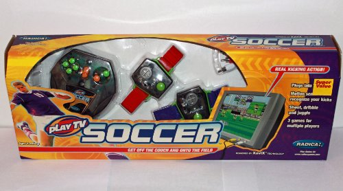 Radica Play TV Interactive Soccer Game