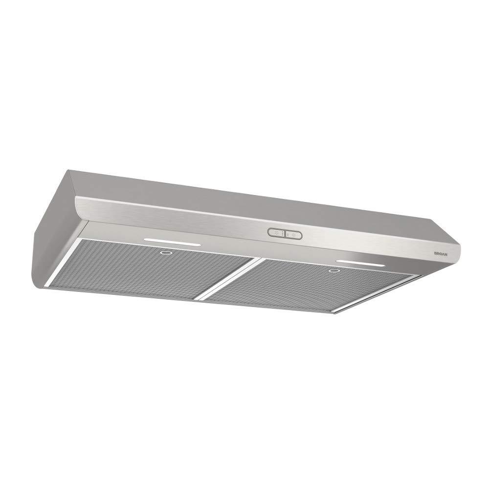 Broan BKDB130SS Sahale Stainless Steel Range Hood, 30-Inch
