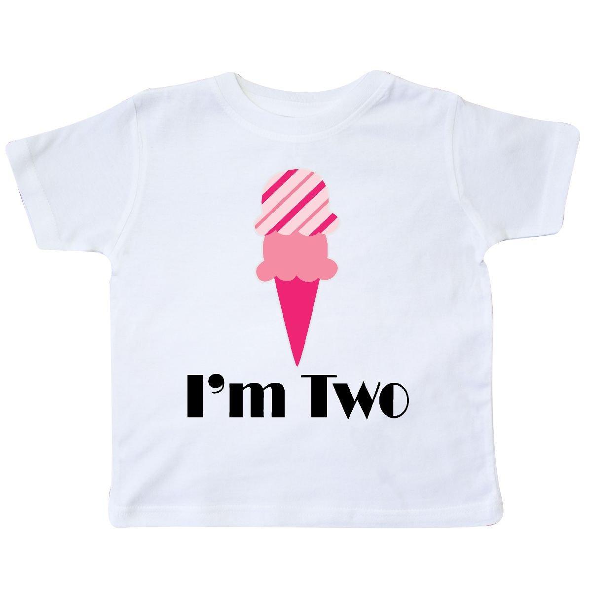 inktastic 2nd Birthday Ice Cream Cone Toddler T-Shirt