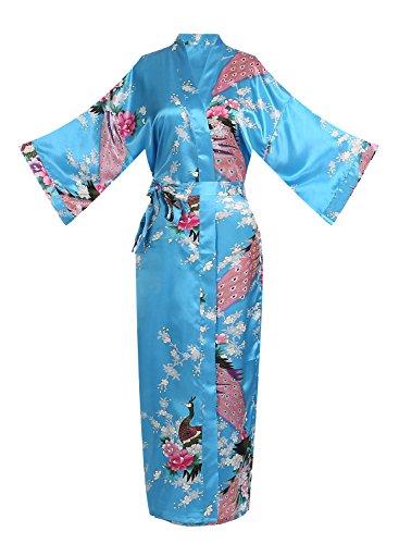 oriental silk dressing gown - 4