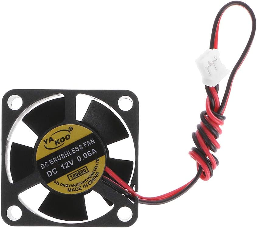 DC 12V Cooling Fan High Airflow Computer Case Cooling Fan 30x30x10mm By Sixsons CPU Coolers Brushless Cooling Fan,Silent Cooler 2-Pin Heatsinks