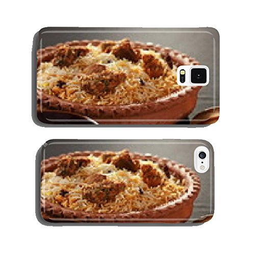 Mutton Gosht Biryani - A rice preparation with mutton and spices cell phone cover case (Spice Mobile)
